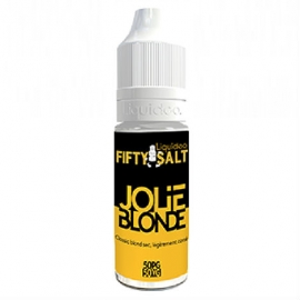 E-liquide Jolie Blonde Fifty Salt