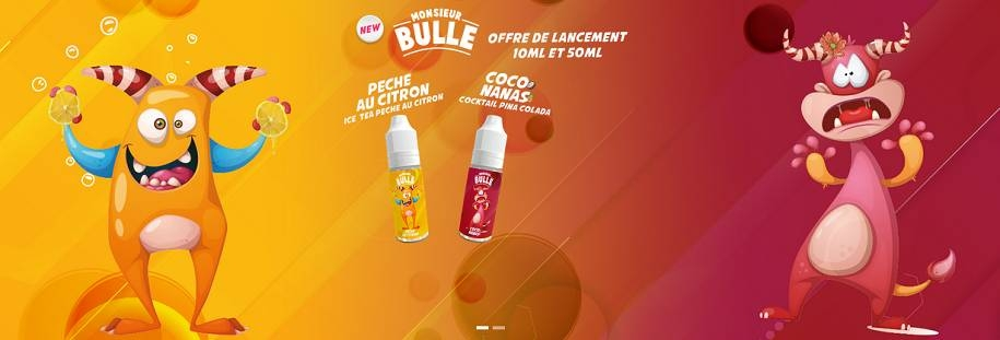 Monsieur Bulle Liquideo